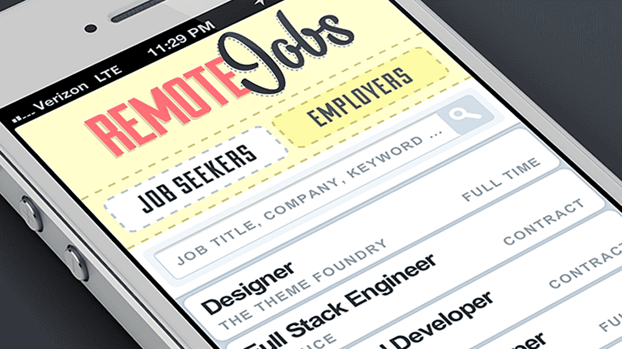 RemoteJobs.io screenshot